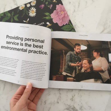 This page talks about creating personal connections to products. It also talks about LUSH's connection to the consumer - I feel this every time I am in a LUSH store as the staff are always attentive and very helpful. It's always a great experience going into LUSH to talk to heaps of different people.