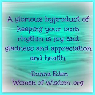 Donna Eden health quote