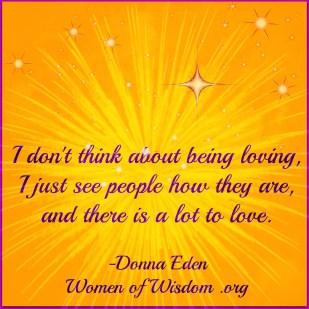 Donna Eden love quote