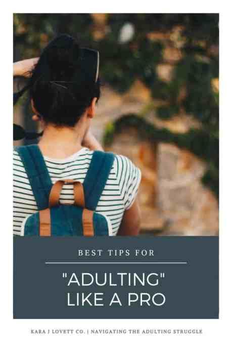 How to Handle Adulthood