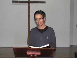 Julian preaching