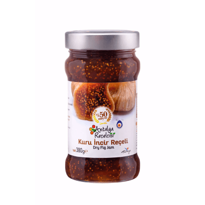 dry fig jam 50% Fruit