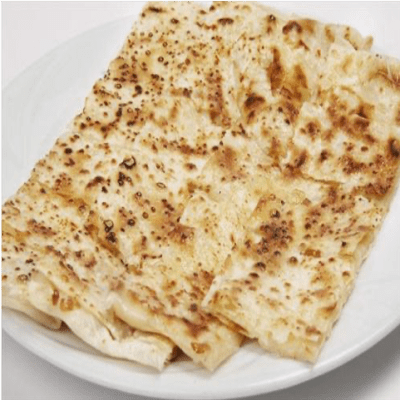 Flatbread with kashkaval cheese