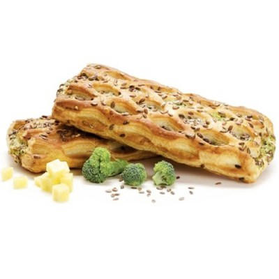 broccoli and cheese lattice