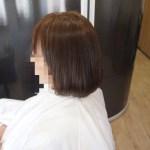 縮毛矯正ラッシュ!艶々でナチュラルな縮毛矯正!ショートヘアに縮毛矯正