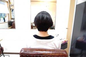 ヘアドネーション 縮毛矯正