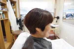 30代ショートヘア