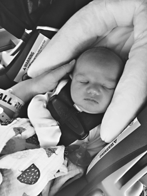 Baby Brooks and His Birth Story | KaraLayneAndCo.com #Motherhood #Birth #Pregnancy