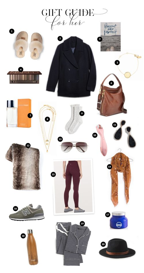 Gift Guide for Her with Haus of Layne. Our top 20 ideas for the realistic budget ranging from $250 down to $15. Catch the ideas now! #GiftGuide2018 #GiftGuides2018 #GiftGuideForHer #GiftGuideForMom #GiftIdeasForWomen #GiftIdeasForMom