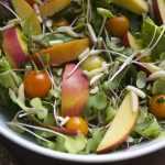 Sayonara Summer Power Salad with Chia Dressing