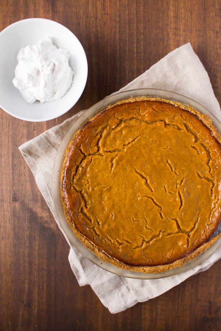 Vegan Gluten-Free Pumpkin Pie-1
