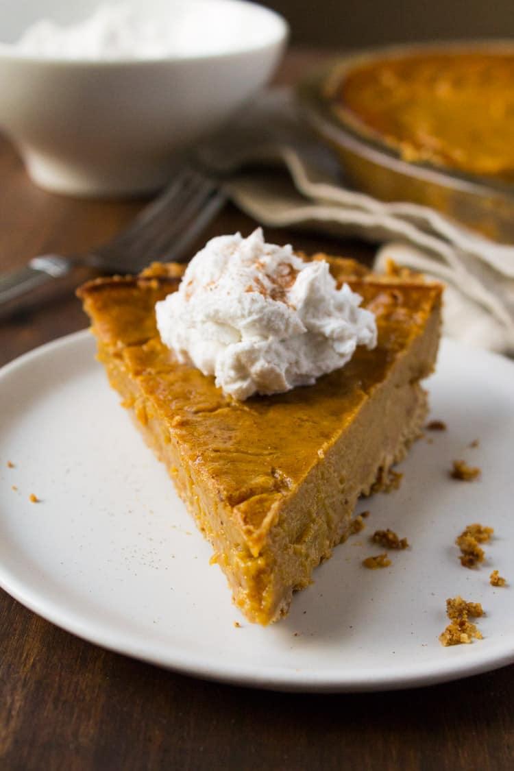 Vegan Gluten-Free Pumpkin Pie-5