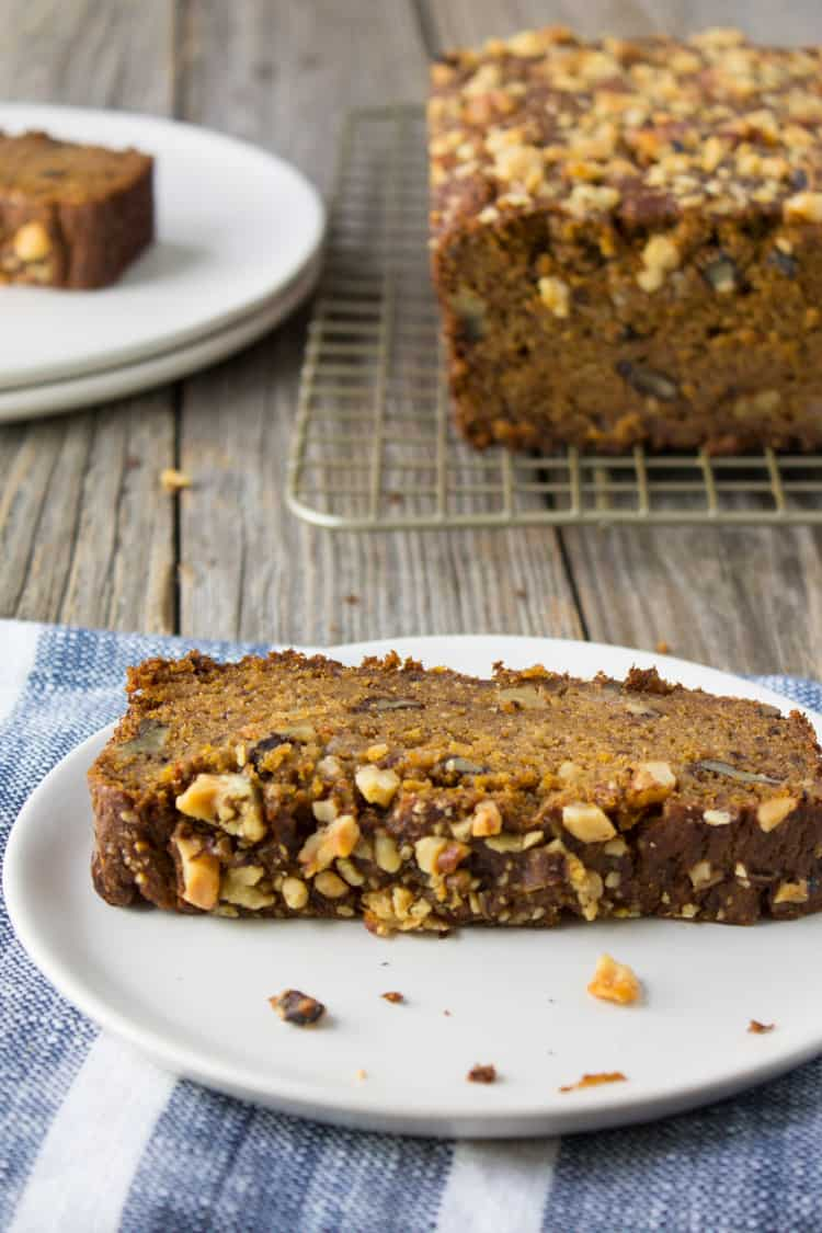 Whole Wheat Butternut Squash Banana Bread-3-2