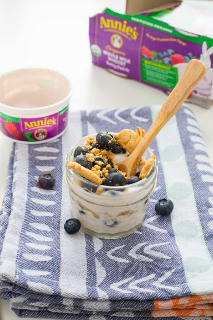Review of Annie's Organic Whole Milk Yogurt and Fun Parfaits