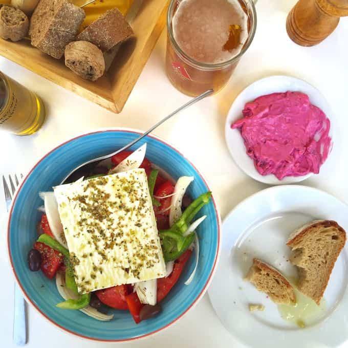 the carob tree, plaka, crete. top 10 things to do on your honeymoon in greece