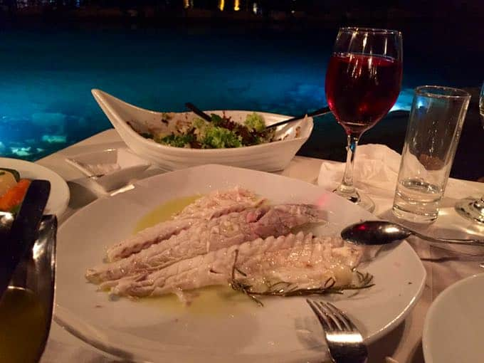 top 10 things to do on your honeymoon in greece. kanali restaurant.