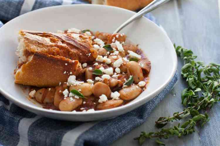 Greek Baked Beans