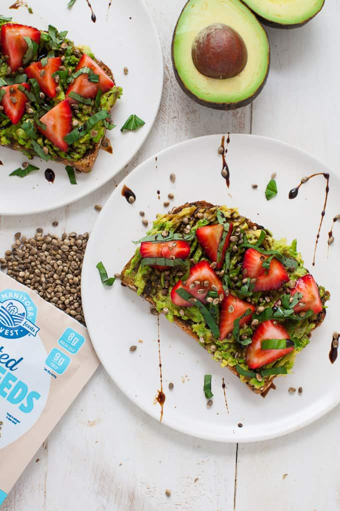 Strawberry Basil Avocado Toast-5-2