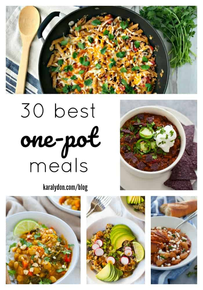 Whether it's the slow-cooker, the Instant Pot, or a beloved old skillet, one-pot meals can save the day. Make dinnertime a breeze with one of these nourishing 30 Best One Pot Meals.