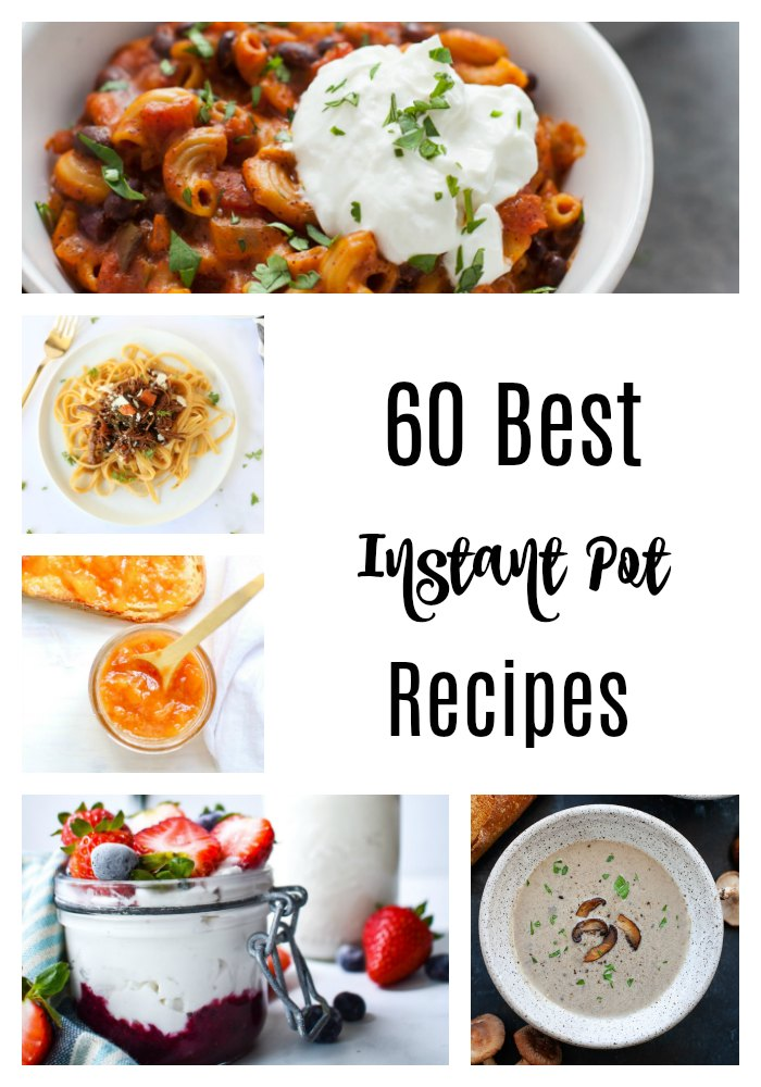 If you're short on time, the Instant Pot has got your back! These 60 best Instant Pot recipes make weeknight dinners or early breakfasts easier for busy schedules.#InstantPot