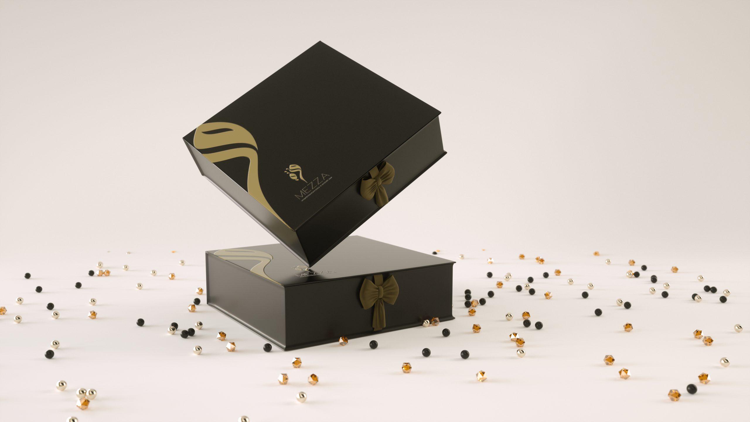 Mezza Sweet packaging