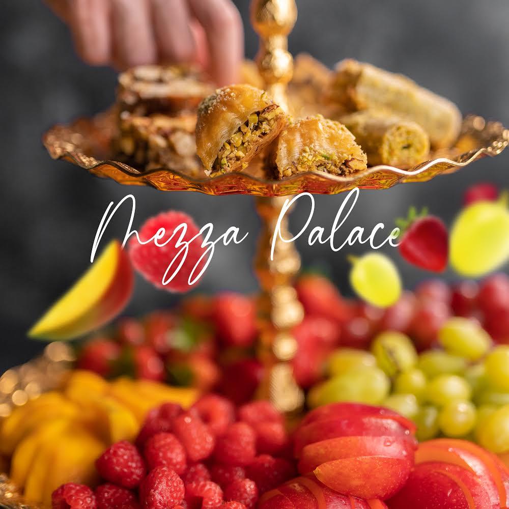 Food photography for Mezza Restaurant