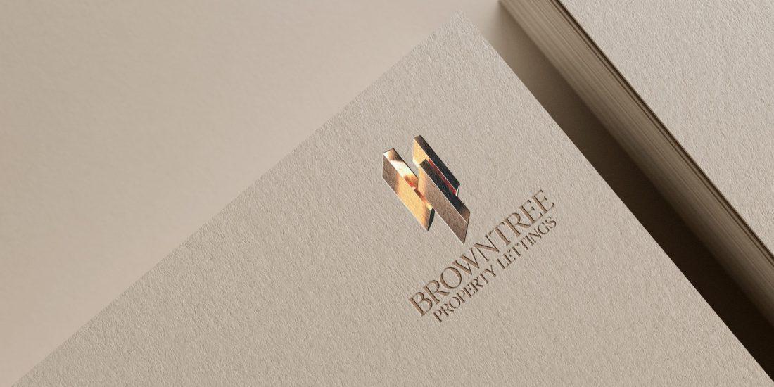 BroLogo design for Browntree Properties lettings