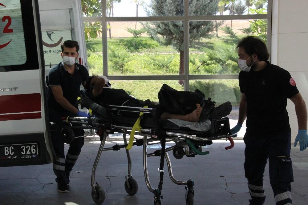 Karaman'da otomobil devrildi: 2 yaralı