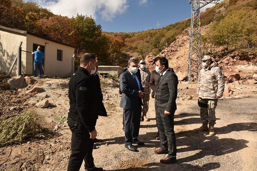 Karaman'da Hava Radar Komutanlığı'na içme suyu projesi