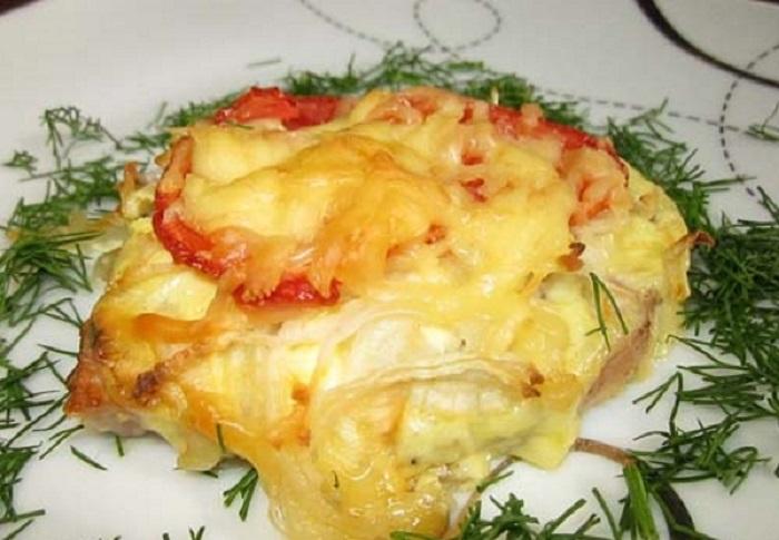 Мясо по-французски с картошкой: 7 рецептов приготовления мяса в духовке этап 9