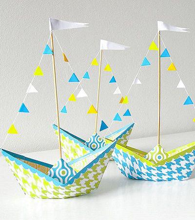 Как сделать кораблик из бумаги? Инструкция складывания бумажного кораблика своими руками этап 8