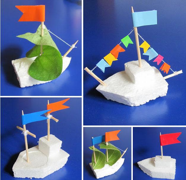 Как сделать кораблик из бумаги? Инструкция складывания бумажного кораблика своими руками этап 68