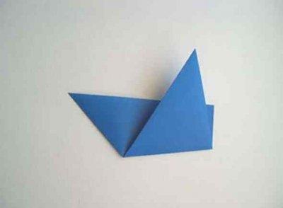 Hoe maak je een boot van papier? Instructie opvouwbare papierboot Doe het zelf stap 30