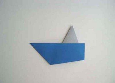 Hoe maak je een boot van papier? Instructie opvouwbare papieren boot doe het zelf fase 33