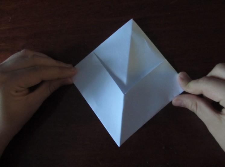 Hoe maak je een boot van papier? Instructies voor opvouwbare papieren boot Doe het zelf stap 18