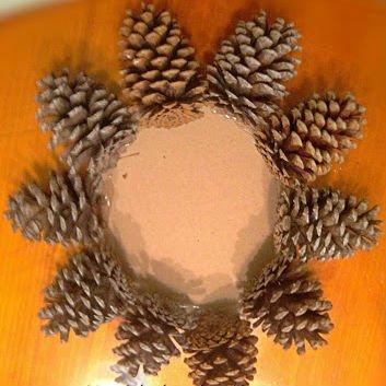 Árvore de Natal com as mãos para o ano novo e # 8212; Ideias fotográficas e mestres estágio de classes 33