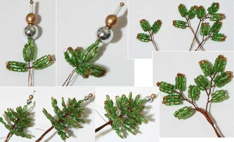 DIY Christmas tree for New Year & # 8212; photo ideas and master classes stage 10