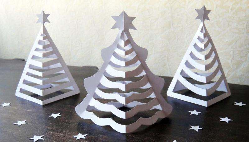 DIY juletræ til nytår & # 8212; fotoideer og mesterklasser trin 89