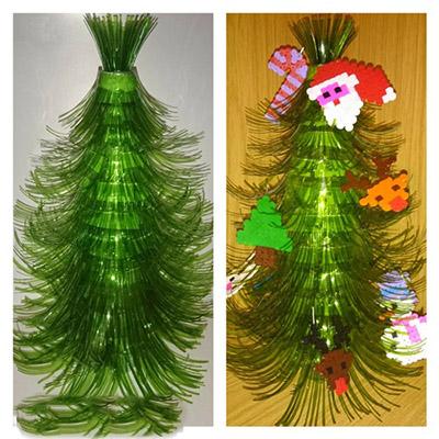 Χριστουγεννιάτικο δέντρο με τα χέρια σας για το Νέο Έτος & # 8212; Ιδέες φωτογραφιών και κύρια μαθήματα Στάδιο 98