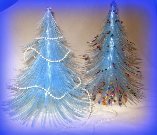 DIY juletræ til nytår & # 8212; fotoideer og mesterklasser trin 99