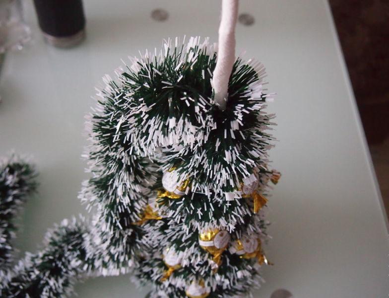Árvore de Natal com as mãos para o ano novo e # 8212; Idéias fotográficas e mestres estágio de classes 70