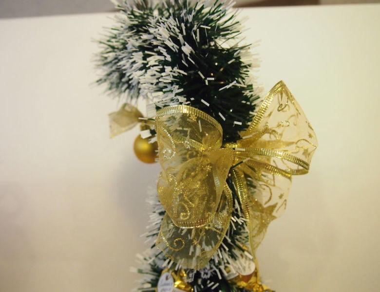 ต้นคริสต์มาส DIY สำหรับปีใหม่ & # 8212; ไอเดียภาพถ่ายและมาสเตอร์คลาสขั้นที่ 71