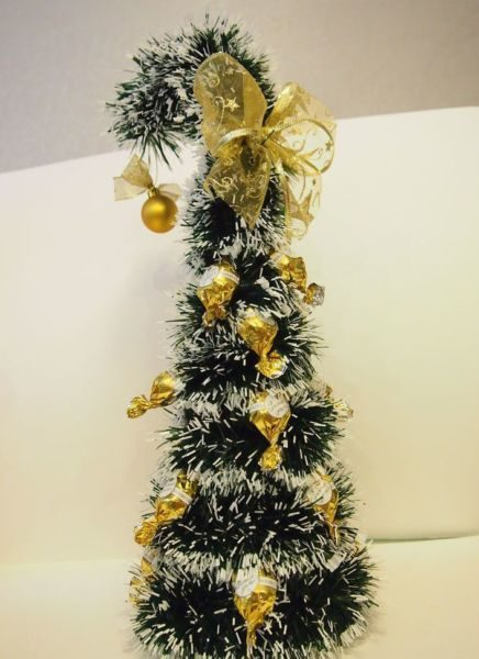 DIY Christmas tree for New Year & # 8212; photo ideas and master classes stage 72