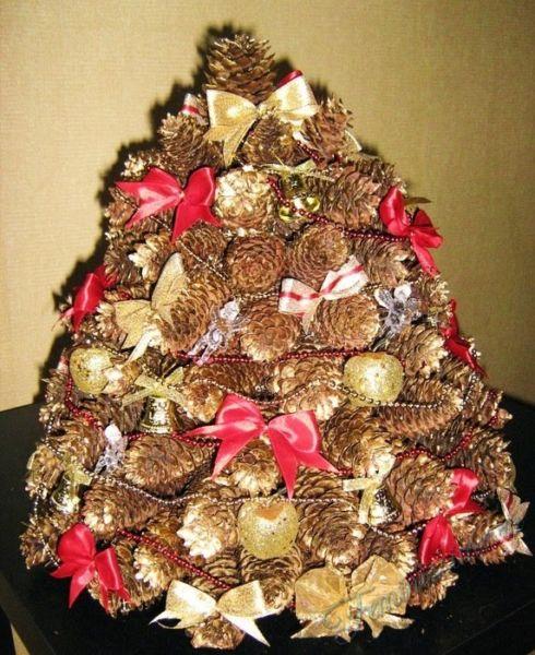 Árvore de Natal com as mãos para o ano novo e # 8212; Ideias fotográficas e master classes Stage 53