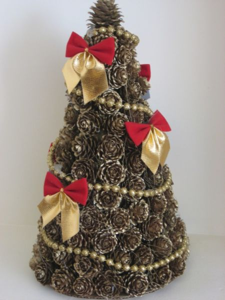 DIY Christmas tree for New Year & # 8212; photo ideas and master classes stage 54