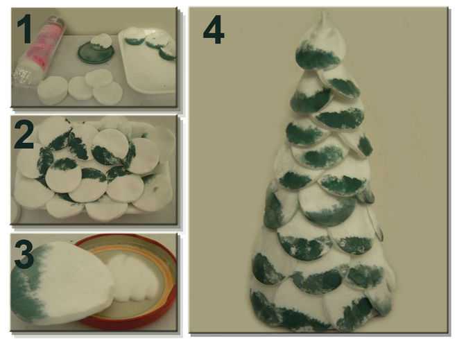 DIY Christmas tree for New Year & # 8212; photo ideas and master classes stage 123