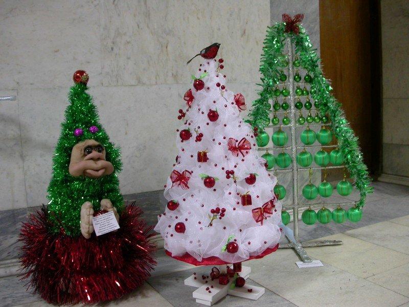 Жаңа жылдық шыршасы бар жаңа ағаш & # 8212; Фото идеялар және мастер-кластар 139 кезеңі