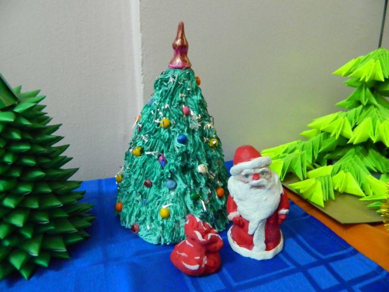 DIY juletræ til nytår & # 8212; fotoideer og mesterklasser fase 140