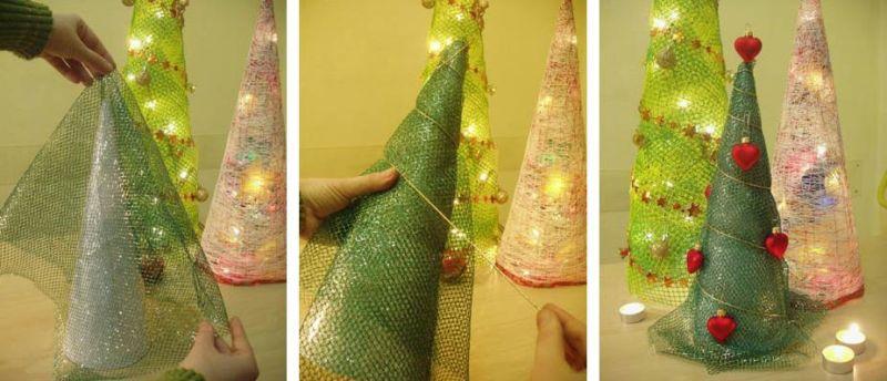 Árvore de Natal com as mãos para o ano novo e # 8212; Ideias fotográficas e mestres estágio de classes 14
