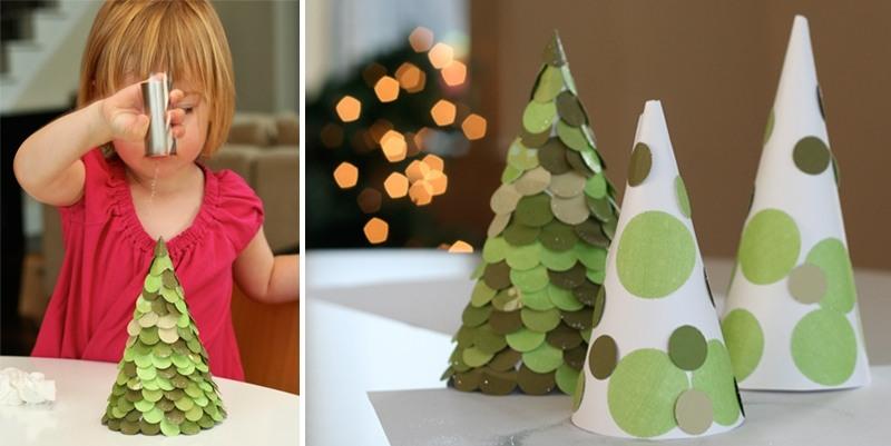 Árvore de Natal com as mãos para o ano novo e # 8212; Idéias fotográficas e mestres estágio 20